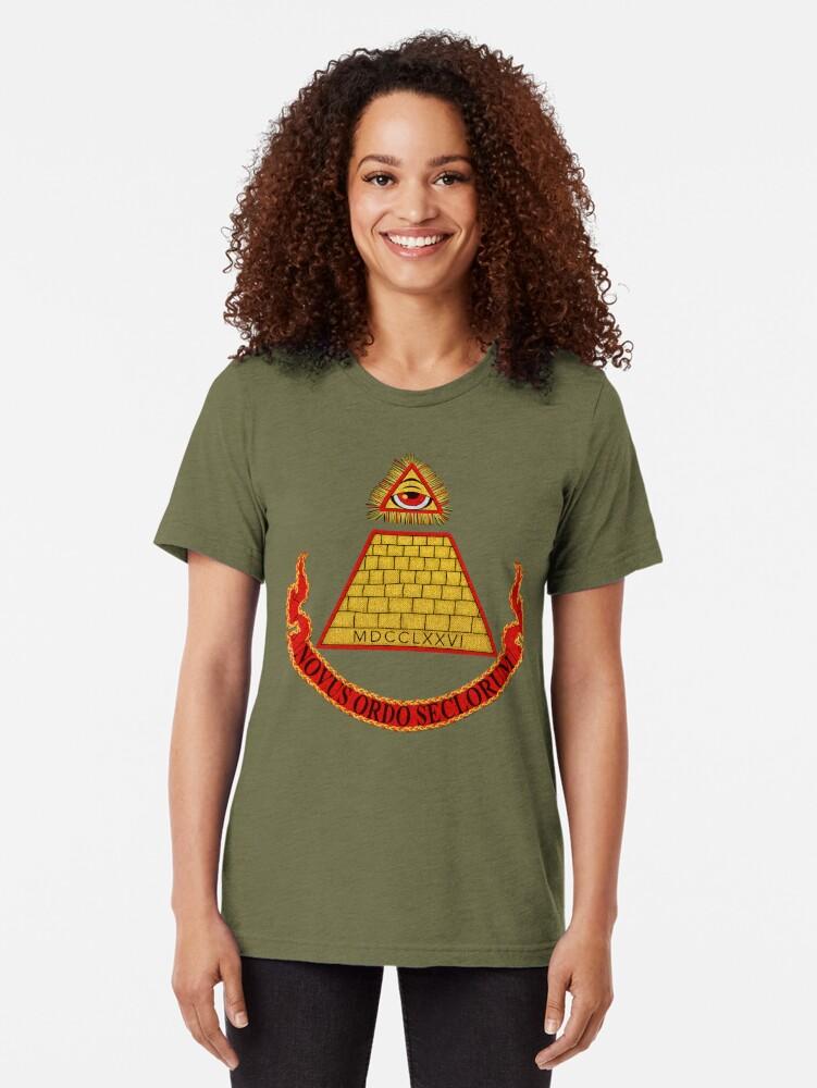 Alternate view of Desperately Seeking Susan Tri-blend T-Shirt
