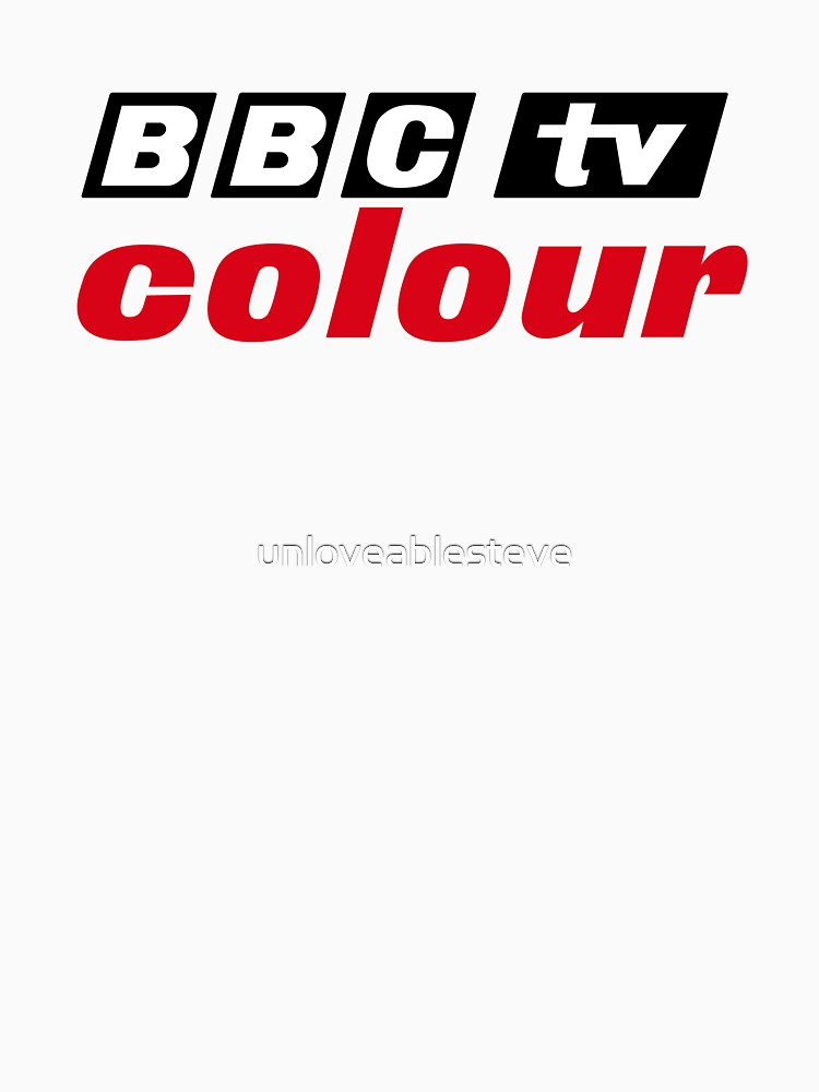Retro BBC colour logo, as seen at Television Centre | Unisex T-Shirt