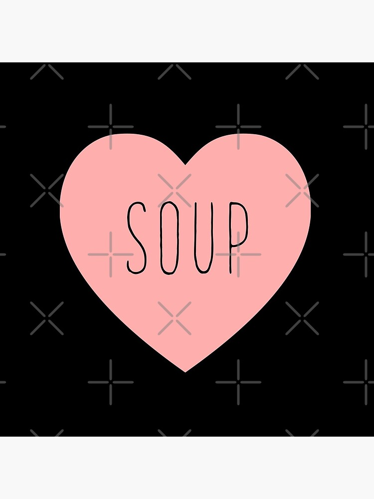 I Love Soup Heart by thepinecones