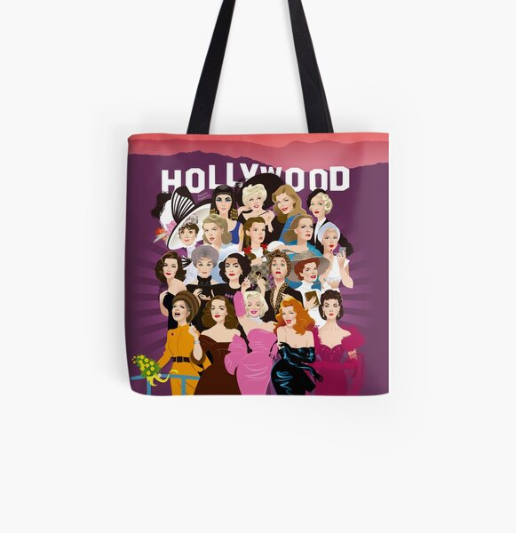 My Hollywood All Over Print Tote Bag