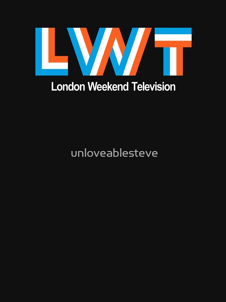 Retro LWT logo, ITV region | Unisex T-Shirt