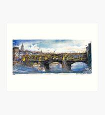 Ponte Vecchio Art Print