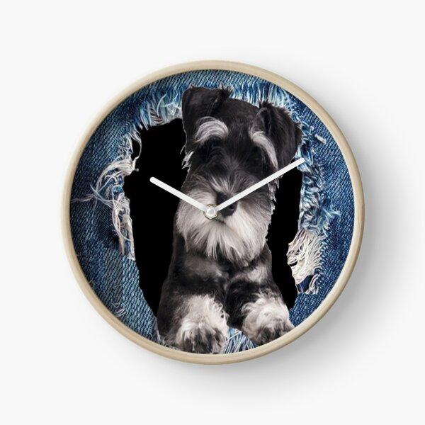 3D Schnauzer best gift for lovers Clock