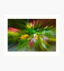 Rainy Day: Tulips, Zoomed Art Print