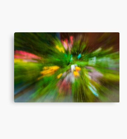 Rainy Day: Tulips, Zoomed Canvas Print