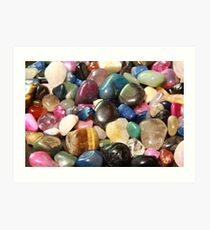 Natural Stone Collection Art Print