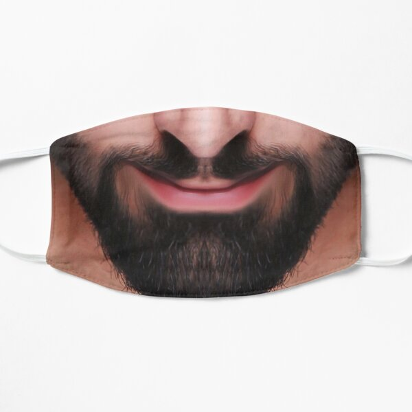 A lucious black beard -  Mask only Mask