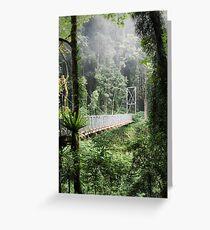 A bridge to Gondwanaland Greeting Card