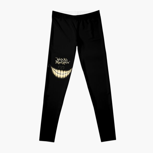 Alice-We're all mad here Leggings