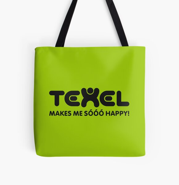 Texel macht mich so glücklich Allover-Print Tote Bag