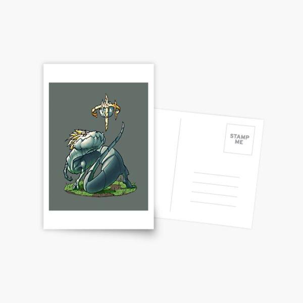 Oeuf et dragon Carte postale