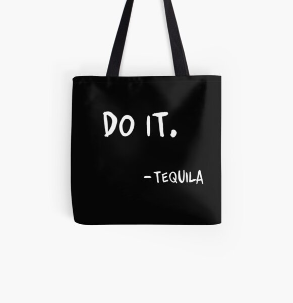 Do It Tequila | Obey Me Tequila Variant All Over Print Tote Bag