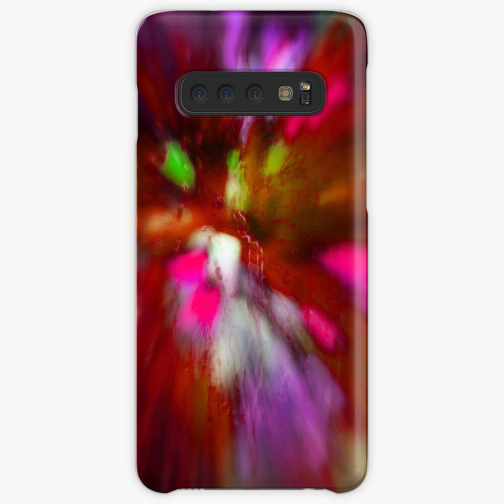 Rainy Day: Tulips, Zoomed Case & Skin for Samsung Galaxy