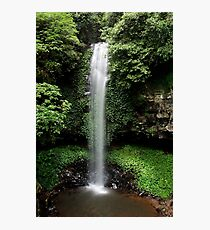 Crystal Shower Falls Photographic Print