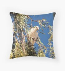 Little Corella Throw Pillow