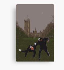 London Matrix, Martial arts Smith Canvas Print