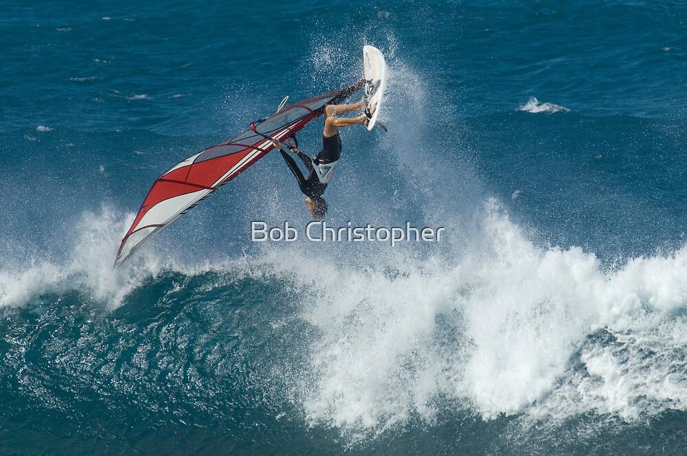 Windsurfing Maui by Bob Christopher