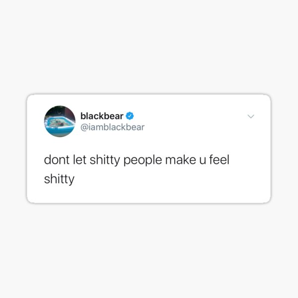 blackbear tweet Sticker