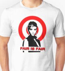 Billie Jean - FAIR IS FAIR Slim Fit T-Shirt