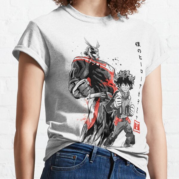 Hero Academia sumi-e Camiseta clásica