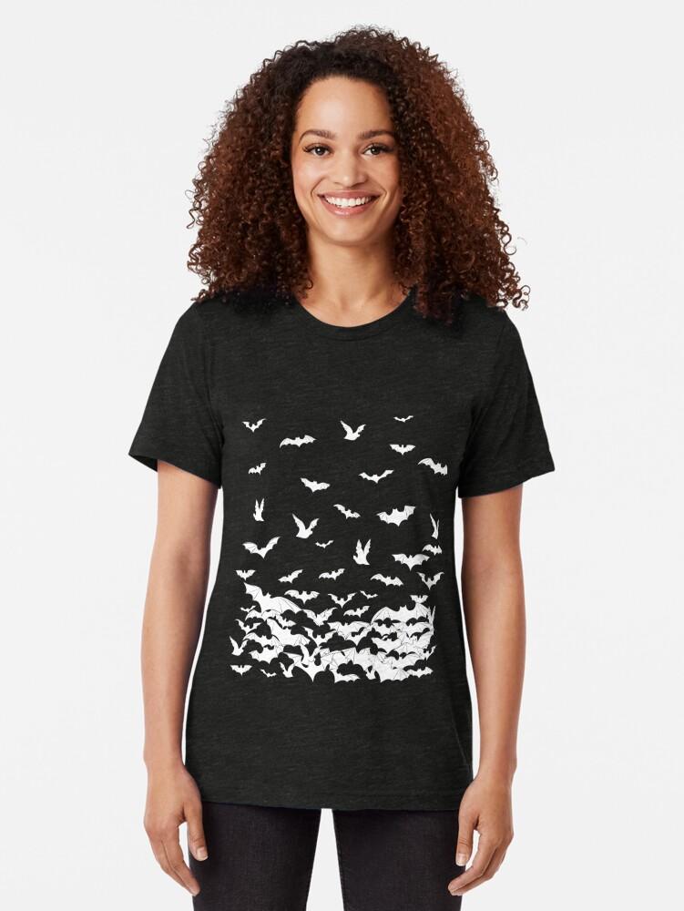 Alternate view of Going Batty Tri-blend T-Shirt