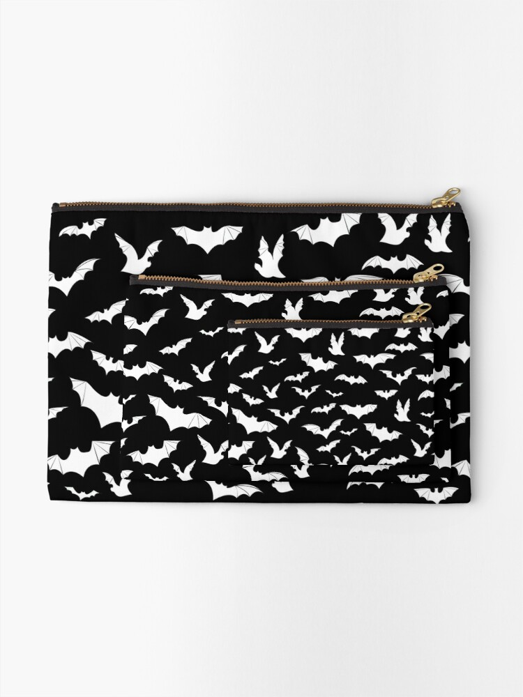 Alternate view of Going Batty Zipper Pouch