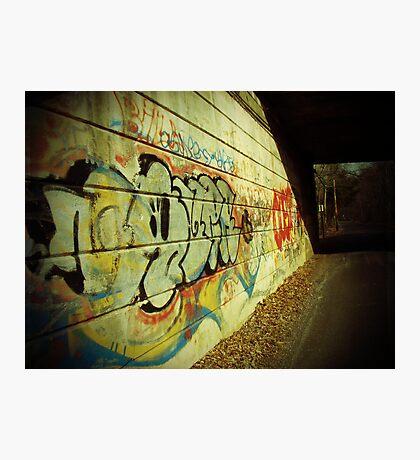 Graffiti under the Bridge Photographic Print