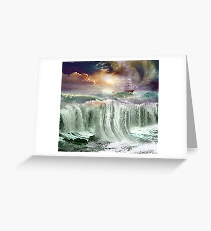 Resting Waters Greeting Card