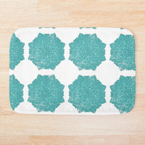 Mandala pattern 01 Bath Mat