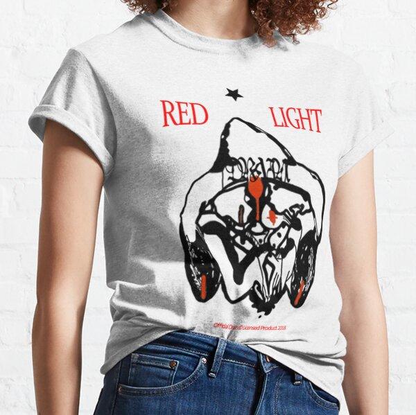 Bladee Drain Gang Red Light Character camiseta logo Camiseta clásica