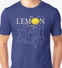 The Travelling Lemon Slim Fit T-Shirt