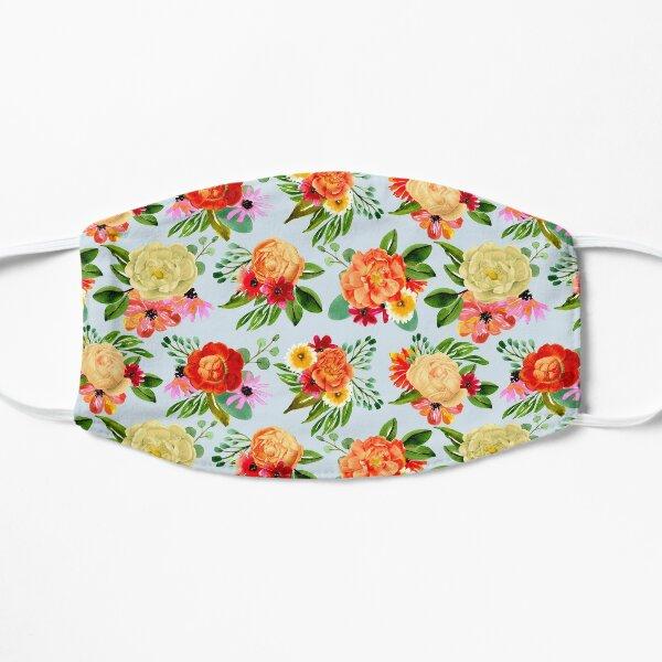 Modern vintage watercolor floral  Mask