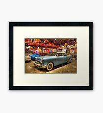 Automobile Heaven Framed Print