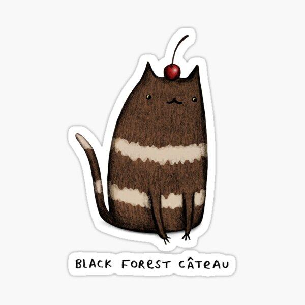 Black Forest Câteau Sticker