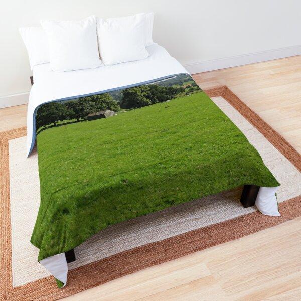 Merch #72 -- Field - Shot 2 (Hadrian's Wall) Comforter