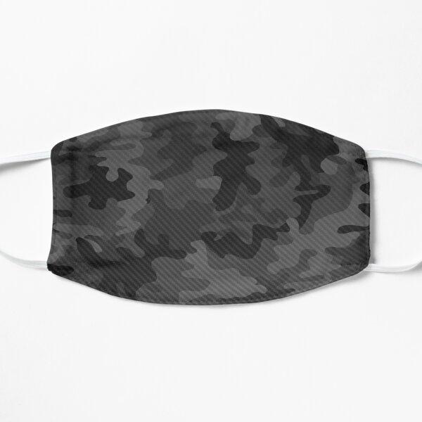 Carbon camouflage design Flat Mask