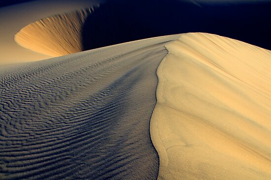 Death Valley Shape Shifters by Bob Christopher