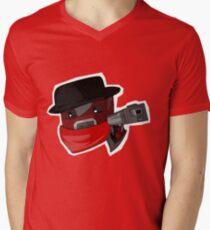 Peppered Men's V-Neck T-Shirt