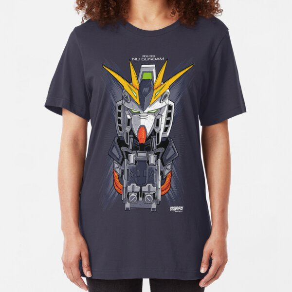 Nu Gundam Slim Fit T-Shirt