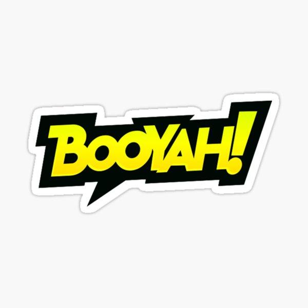Amantes de los juegos: BOOYAH !! Pegatina