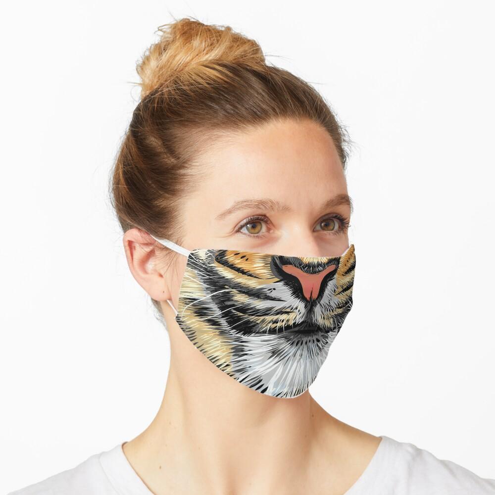 Tiger Mouth Mask Mask