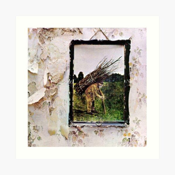 """Led Zeppelin — """"Led Zeppelin IV"""" Art Print"""