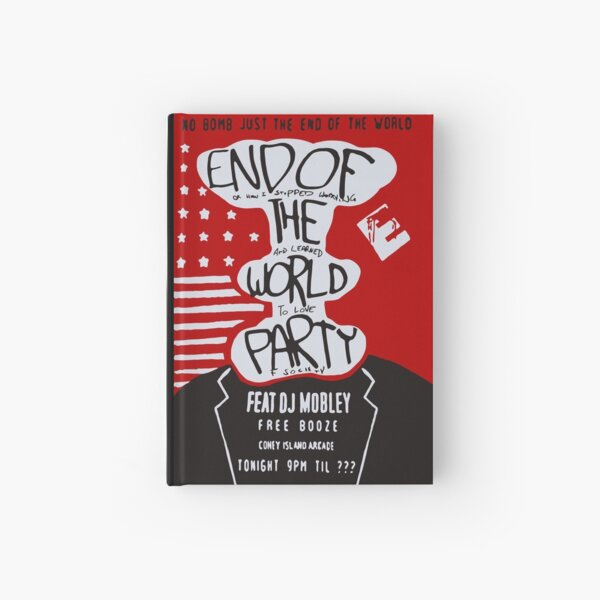 MR ROBOT: END OF THE WORLD PARTY Hardcover Journal