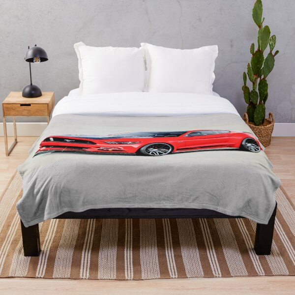 Ford Mustang GT 2015 Throw Blanket