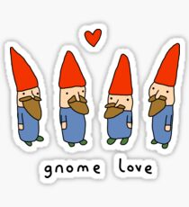 Gnome Love Sticker