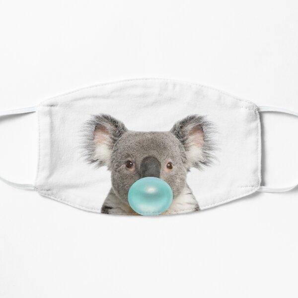 Koala Bubblegum Art Cute Nursery Flat Mask