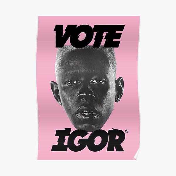 VOTE IGOR Poster