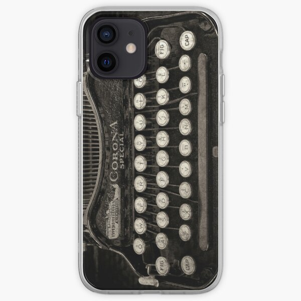 Vintage Typewriter Keyboard iPhone Soft Case