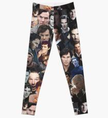 Benedict Cumberbatch Collage Leggings