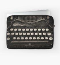 Vintage Typewriter Keyboard Laptop Sleeve